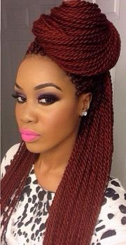 natural hair. box braids. protective