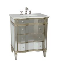 7 best images about Mirrored Bathroom Vanities on ...