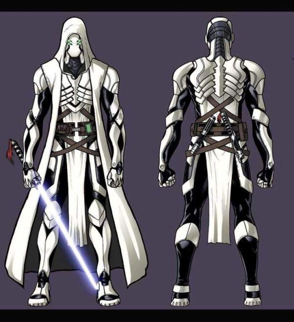 Jedi Armor quotA long time agoquot seems way too futuristic
