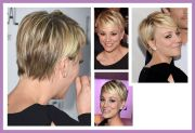 kaley cuoco pixie cut hairstyles