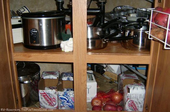 Equipping Your RV Kitchen Tips For Storage  Organization Aboard An RV  Storage organization