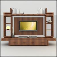 modern tv wall unit 3d model - TV / Wall Unit Modern ...