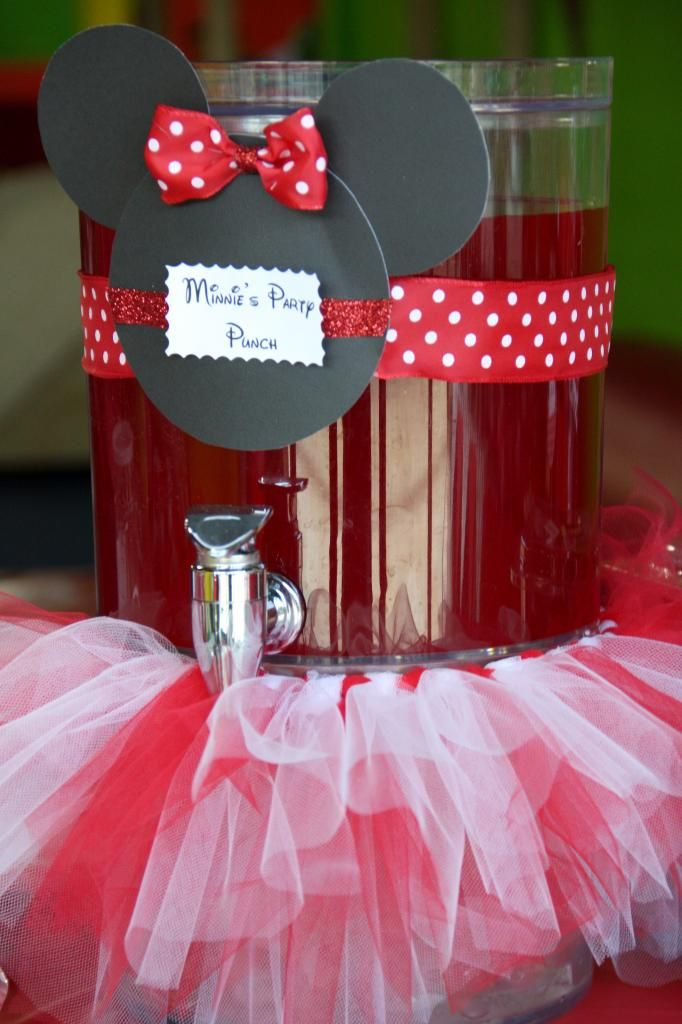 Minnie Mouse Party Punchbut pink pink lemonade maybe