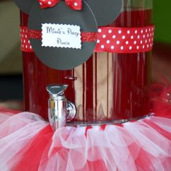 Old High Chair Ideas Wobble Chiropractic Minnie Mouse Party Punch...but Pink.. Pink Lemonade Maybe? | Miss Sophia! Pinterest Best ...