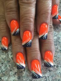 1000+ ideas about Denver Broncos Nails on Pinterest ...