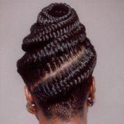 fishtail cornrows african hair