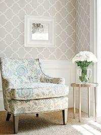 17+ best ideas about Trellis Wallpaper on Pinterest | Half ...