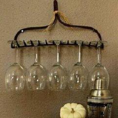 Kitchen Pot Racks Non Slip Shoes Diy Wine Glass Rack   Uncorking Creativity Pinterest ...