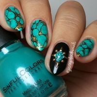 25+ best ideas about Nails Turquoise on Pinterest ...