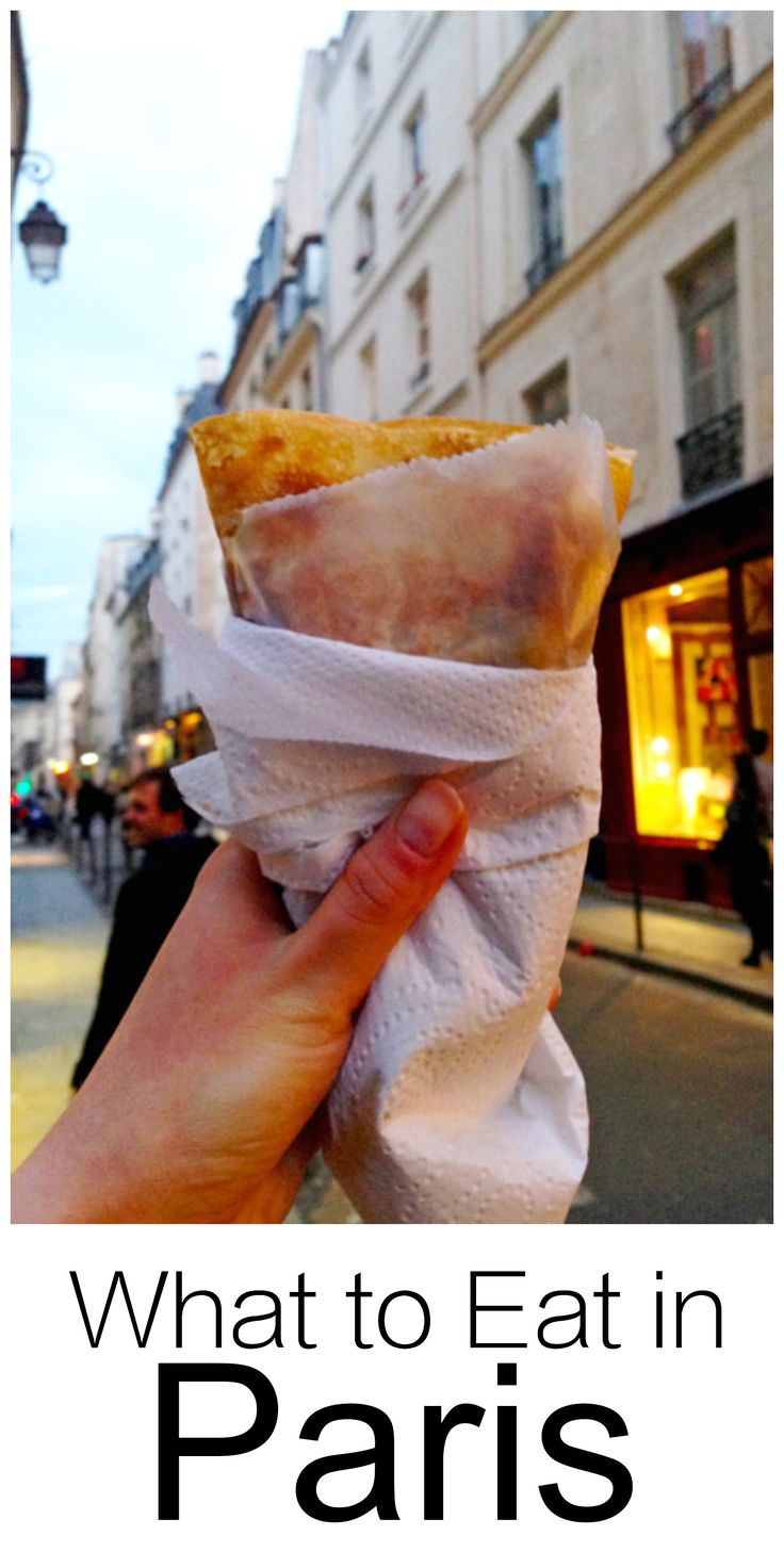 My favorite foods to eat in Paris ~ crepes, foie gras, cheese, crepes, pastries, fine dining and more. This is a great list if