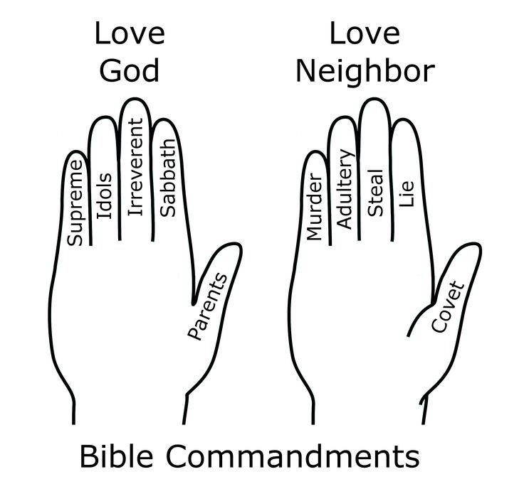 17 Best images about 10 Commandment Lessons on Pinterest