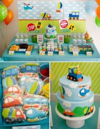194 best images about Boy's Vintage Train Birthday Party ...