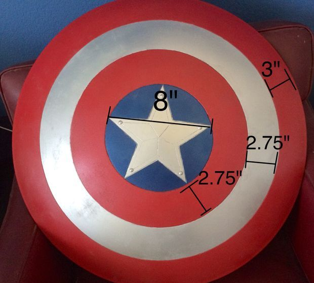 This is the best Captain America Shield tutorial Ive found. Looks good, and the instructions are thorough and precise.