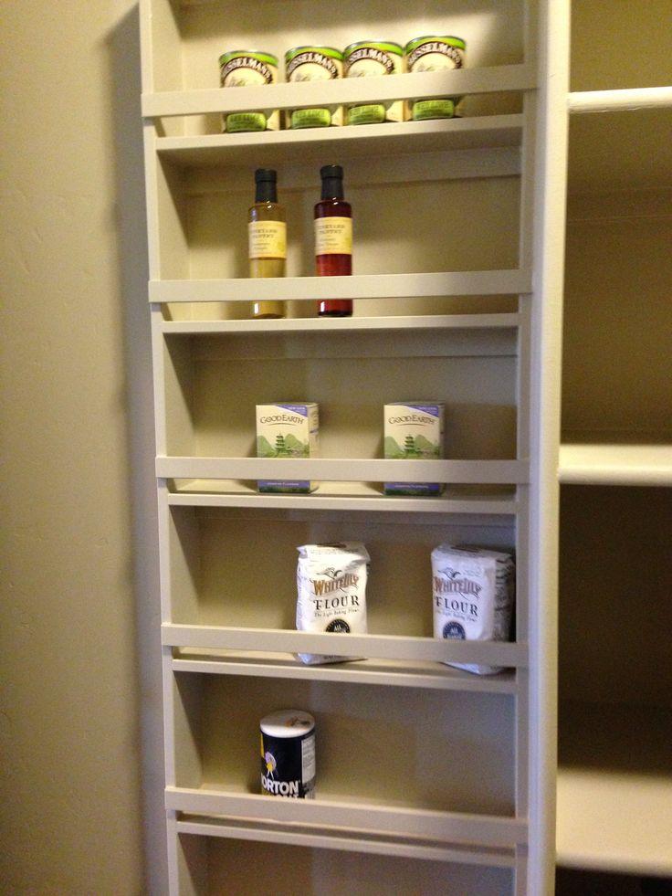 kitchen storage shelf backsplashes for kitchens shallow shelving   helms home pinterest shelves, wall ...