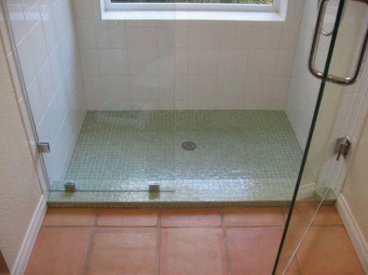saltillo tile, shower tile color