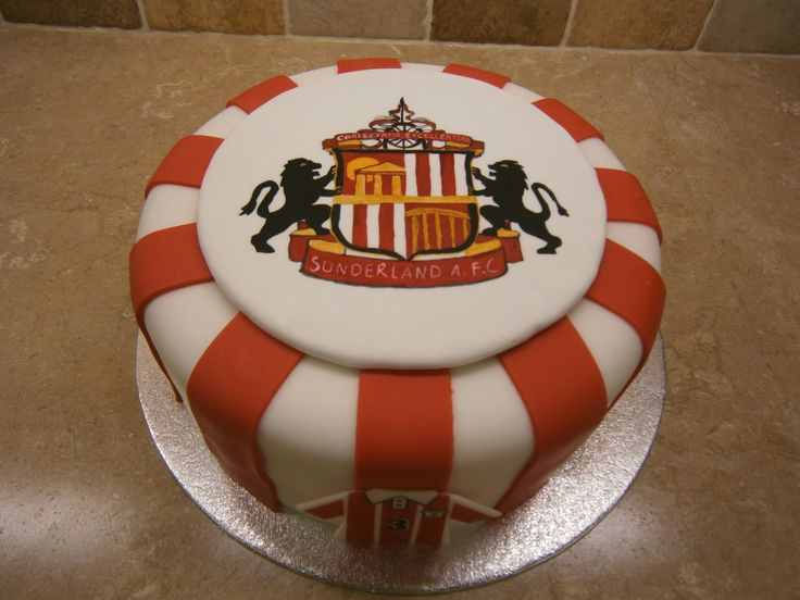Sunderland Football Club My Cake Creations Pinterest