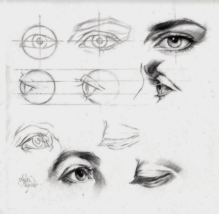 How to Draw Eyes Drawing Eyes Step by Step Idiot&39s