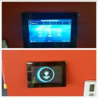 Fresco touchscreen Lighting Controls in conference rooms ...