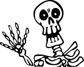 Free Skeletons Clipart. Free Clipart Images, Graphics