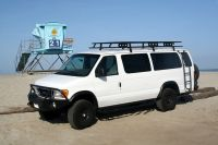 Ford E 350 EB Van with Aluminess gear all around ...