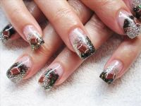 girly football nail design | Toe nail art | Pinterest ...