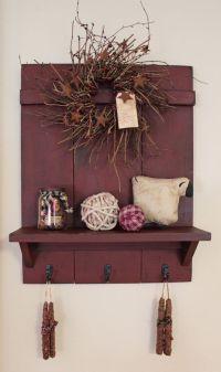 Best 20+ Primitive shelves ideas on Pinterest   Prim decor ...