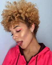 tapered natural hair ideas