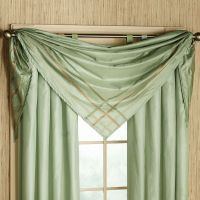17 Best ideas about Scarf Valance on Pinterest