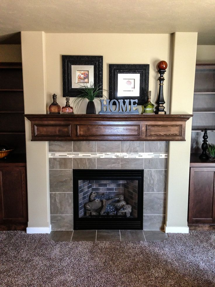 1000 Ideas About Fireplace Mantel Decorations On