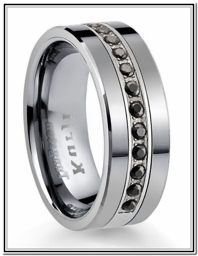 25 Best Ideas About Black Wedding Bands On Pinterest