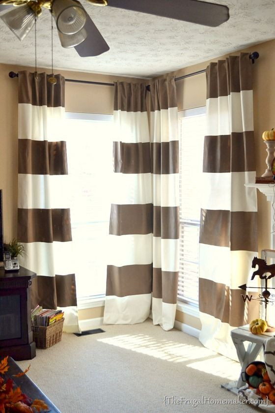 25 Best Ideas About Striped Curtains On Pinterest Stripe