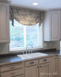 25+ best ideas about Kitchen window treatments on ...