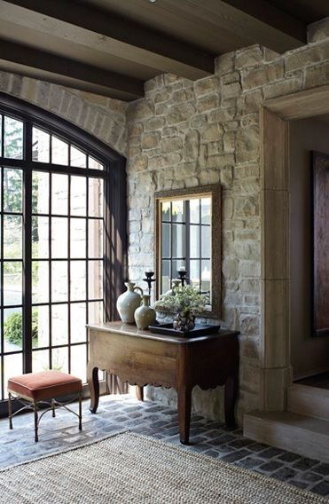 25+ best ideas about Stone accent walls on Pinterest
