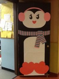 Penguin door | Door Decor | Pinterest | More Penguins ...