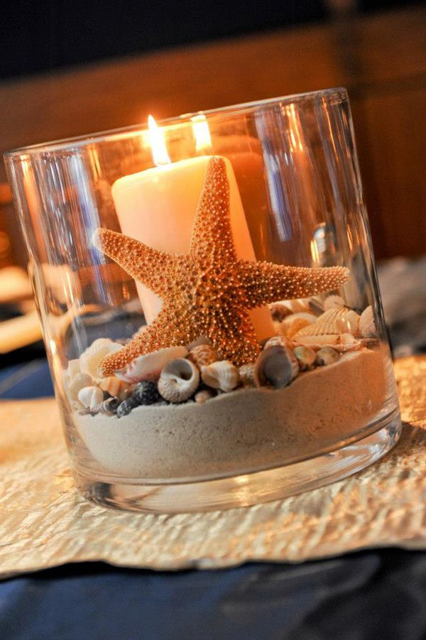 25 best ideas about Beach theme centerpieces on Pinterest  Beach centerpieces Beachy