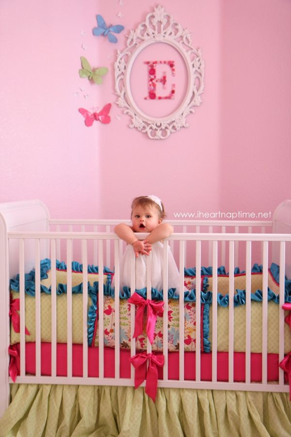 Emmalyn's nursery reveal! {DIY