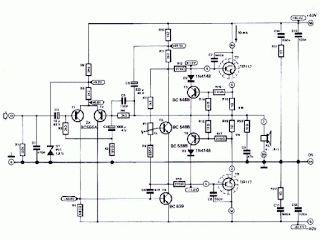 RO ELECTRONICA: AMPLIFICATOR audio 120W BDX66C si BDX67C