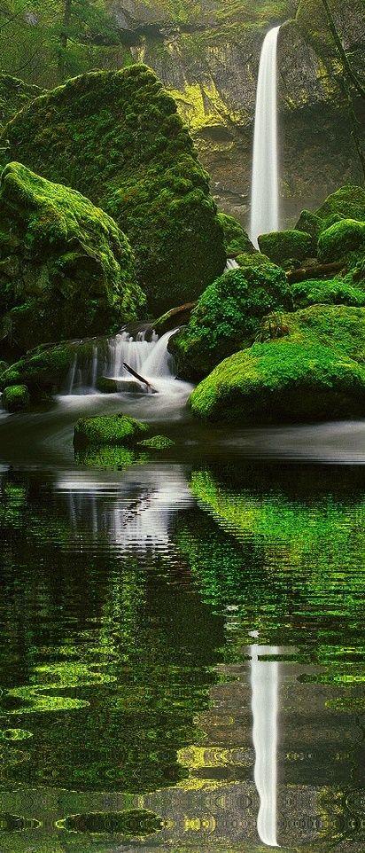 Elowah Falls,
