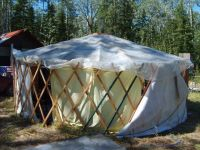 GerTee - Portable Tent Home Made of Recycled Materials ...