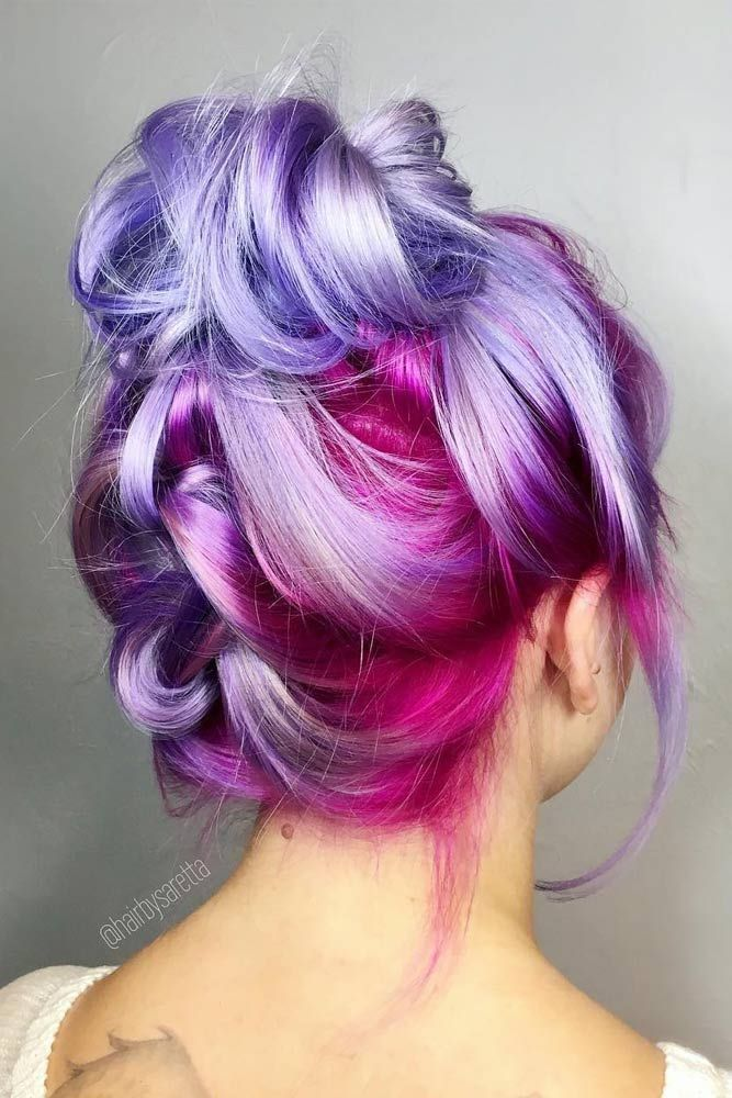 25 Best Ideas About Colored Hair Styles On Pinterest Hair