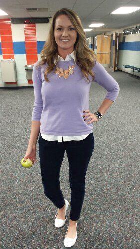 Teacher Clothing Blog Lilac