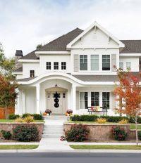 Best 25+ White Exterior Houses ideas on Pinterest