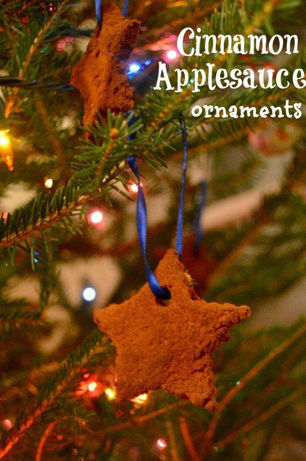the best applesauce cinnamon ornaments kids love to make