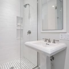 Small Kitchen Cabinet Ideas Samsung Suite Traditional 3/4 Bathroom With Kohler-forte 8 In ...