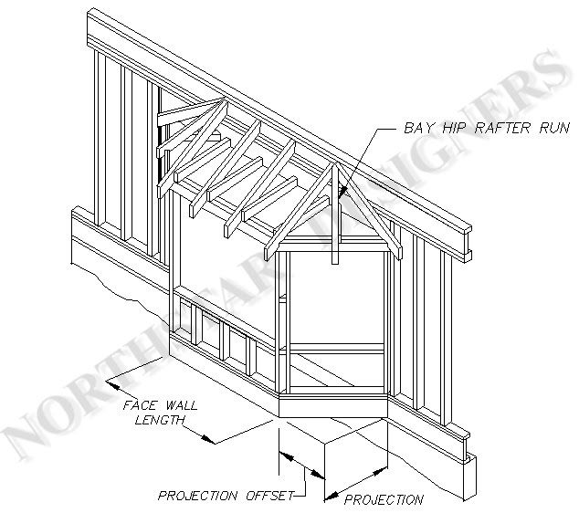 plan for bay window addition