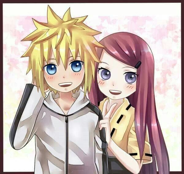 Cute Couple Together Wallpaper Young Minato Amp Kushina From Naruto Anime Pics
