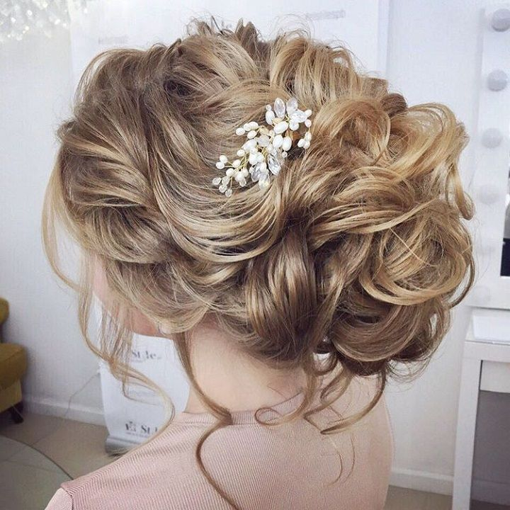 1000 ideas about Low Bridal Updo on Pinterest  Wedding
