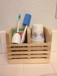 new natural toothbrush holder but can be used for anything ...