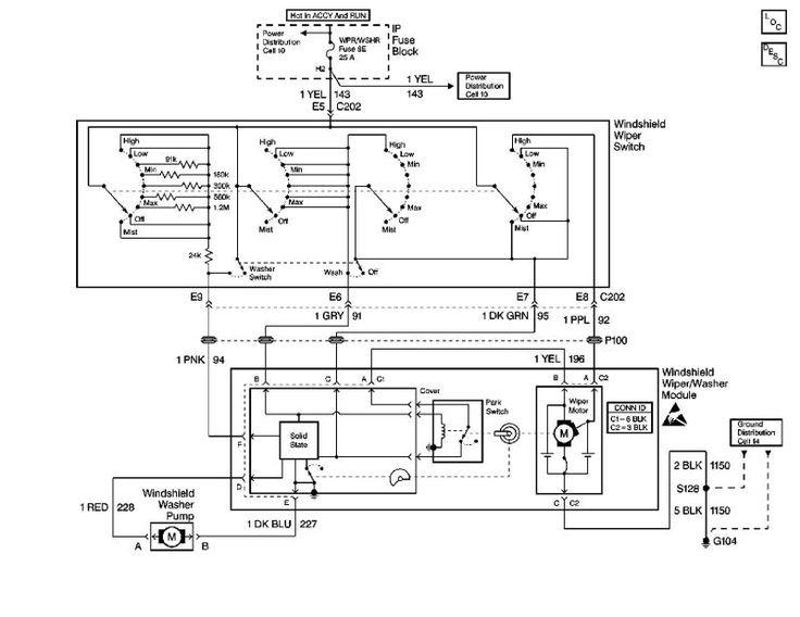 98 chevy blazer fuel pump wiring diagram