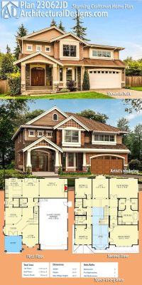 Best 20+ House Plans ideas on Pinterest | Craftsman home ...